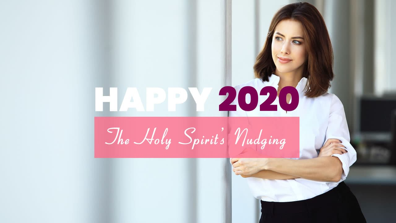 Sue Z Mcgray  Happy New Year - The Holy Spirit's Nudging